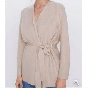 NWT Zara Belted Cardigan